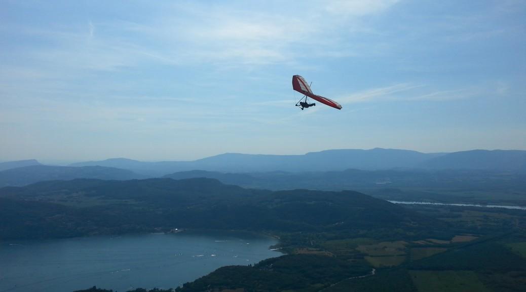 hang gliding student